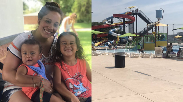 Breastfeeding mom says Texas City pool manager kicked her out