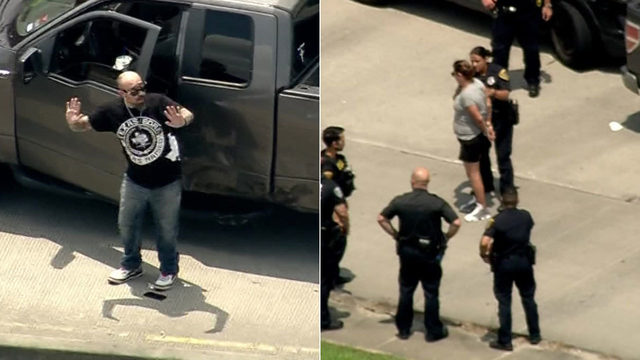 $1 million worth of drugs found in pickup after southeast Houston chase,…