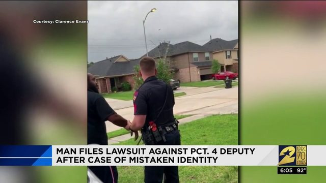 Man files lawsuit against Pct. 4 deputy after case of mistaken identity