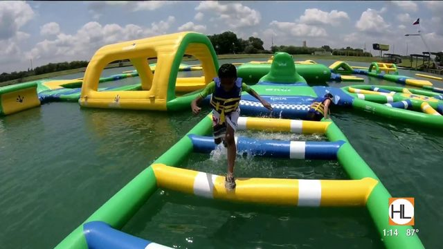 5 things you should try at Altitude H20, the largest inflatable obstacle…