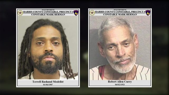 2 men wanted, accused of stealing from Houston National Cemetery