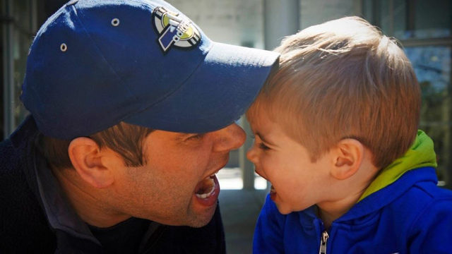 Do you look like your father or son? Share your photos for Father's Day