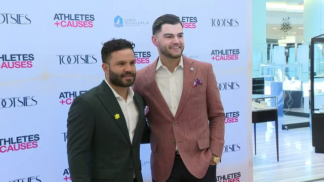 McCullers and Altuve raise money for kids and canines