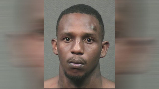 Father's accused killer behind bars