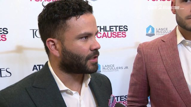 McCullers and Aluve speak about the importance of charity event