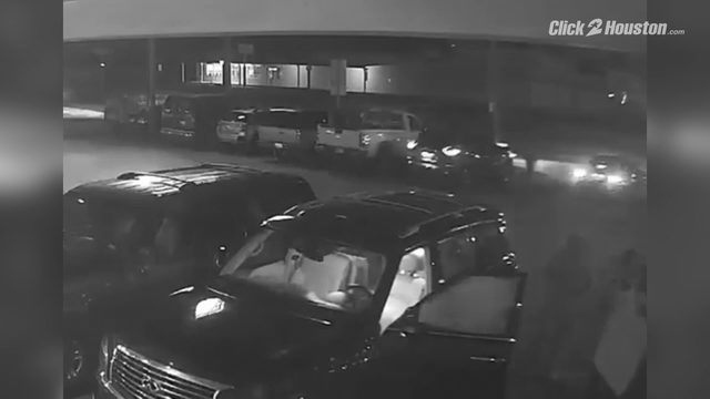 West Mount Houston carjacking surveillance video