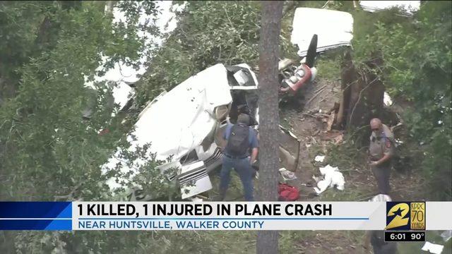 1 Killed, 1 Injured in Plane Crash