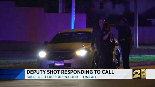 Deputy Shot Responding to Call