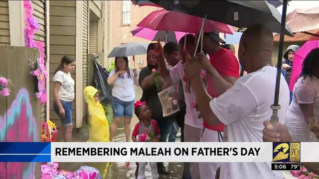 Remembering Maleah on Father's Day