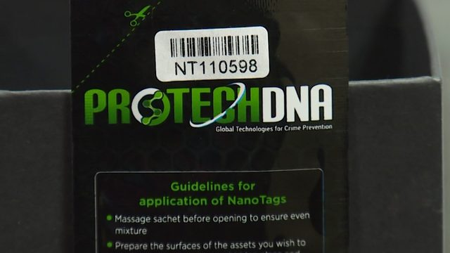 Marking your property with DNA