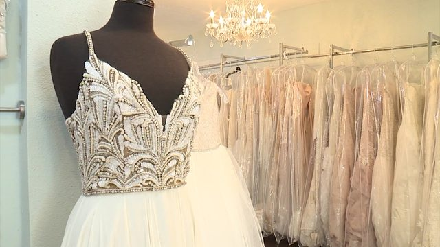 Save money on a designer wedding gown; Make money selling yours after…
