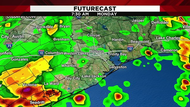 Q&A: How much rain to expect for your morning commute