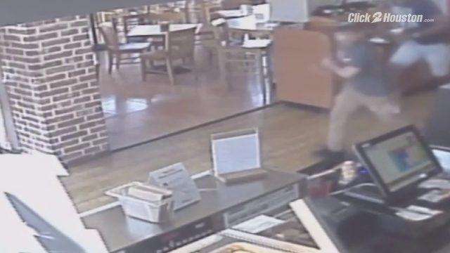 Schlotzsky's robbery surveillance video