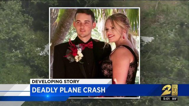 Small plane crash investigation