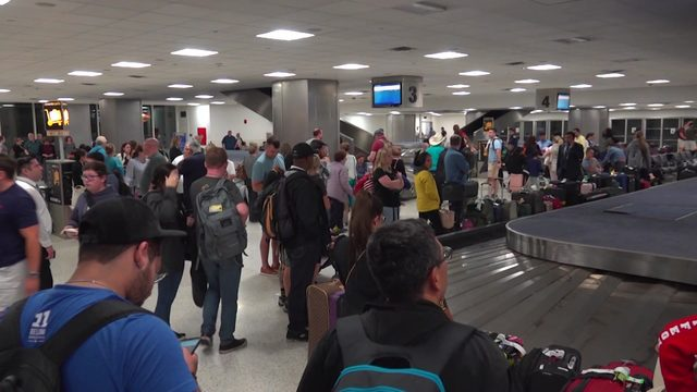 Hundreds want answers after being stranded at IAH due to heavy overnight storms