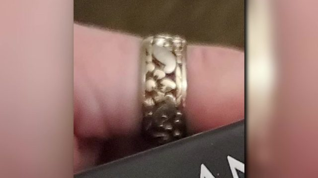 Woman finds lost family heirloom