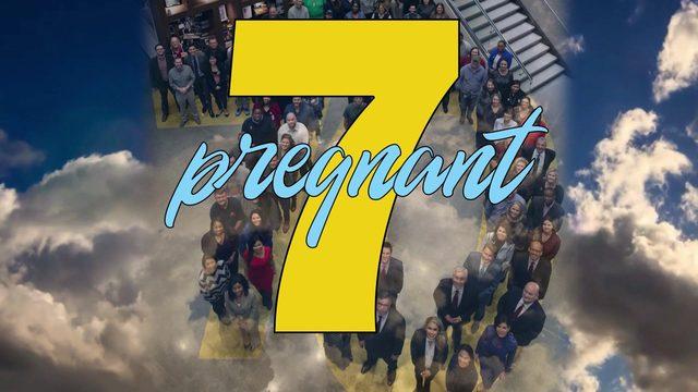 7 pregnancies in the KPRC newsroom