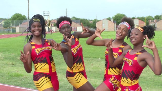 Local youth track and field team team puts Houston on the map