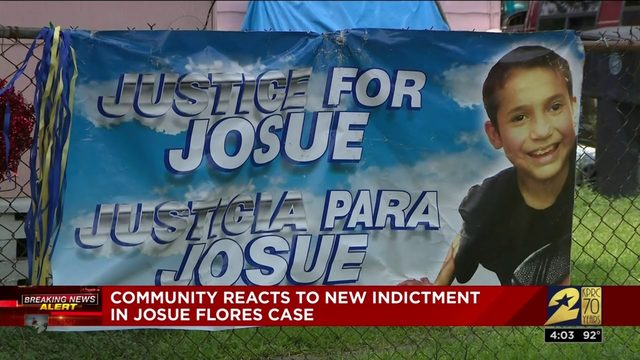 Community reacts to new indictment in Josue Flores case