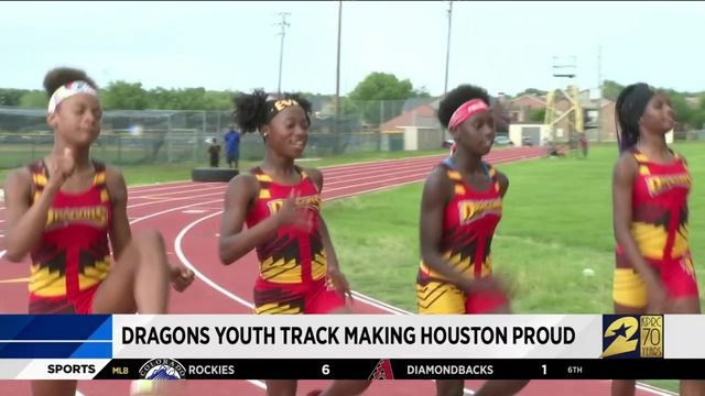 Dragons youth track making Houston proud