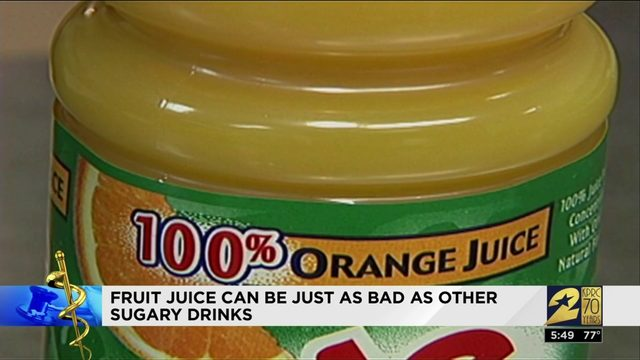 Fruit juice isn't as health as you thought