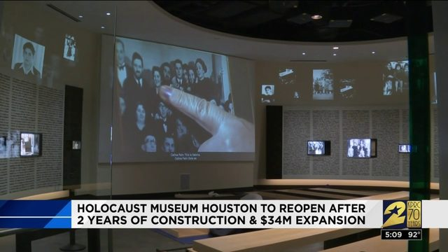 Holocaust Museum Houston to reopen after 2 years of construction and $34…