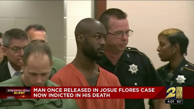 Man once released in Josue Flores case now indicted in his death