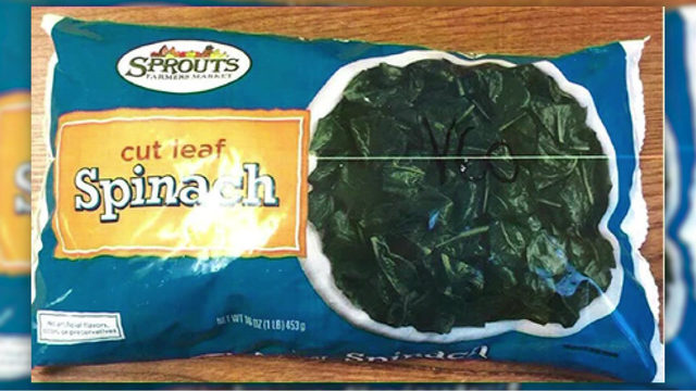 Sprouts Farmers Market recalling frozen spinach