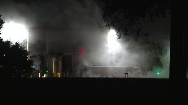 Hazmat crews respond to chemical leak