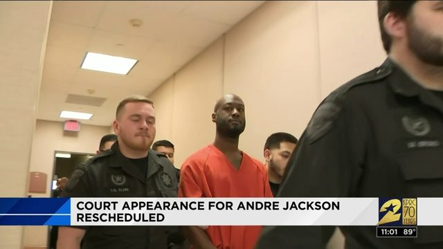 Court date for Andre Jackson reset