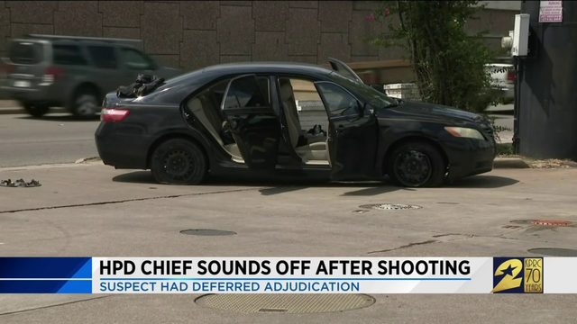 HPD chief sounds off after shooting