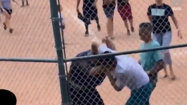 Baseball brawl: 20 adults throw punches at youth baseball game