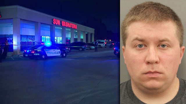 Police: Security guard charged with murder after shooting man outside laundromat