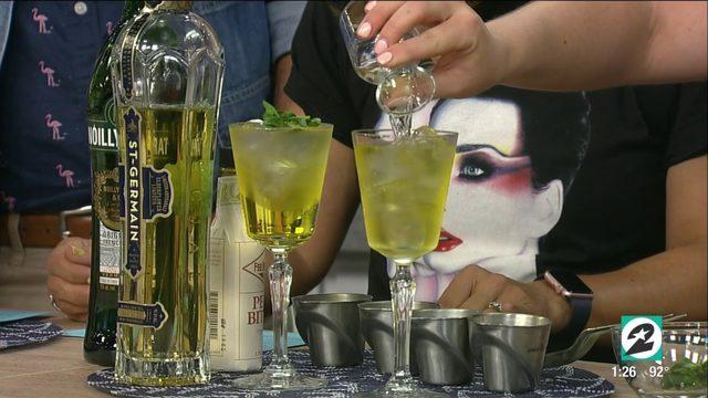 Houston award-winning bartender shares 3 refreshing spritz recipes…