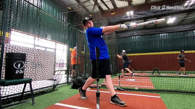 Karsen Luther prepares for MLB Jr HR Derby