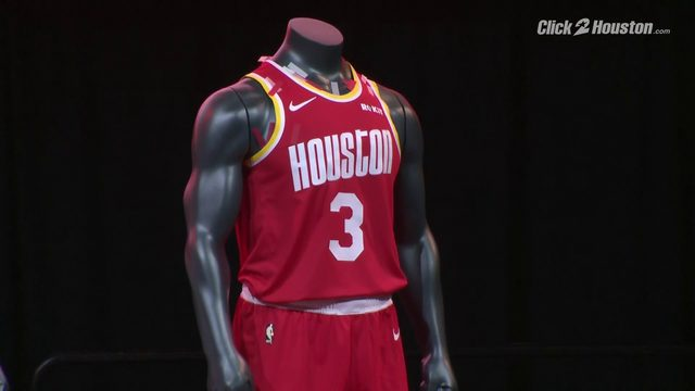 New Rockets uniforms revealed