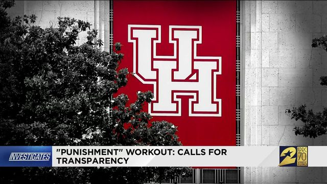 """Punishment"" workout: Calls for transparency"