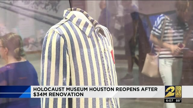 Holocaust Museum Houston Reopens After $34M Renovation