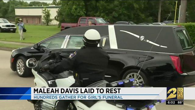 Maleah Davis Laid to Rest