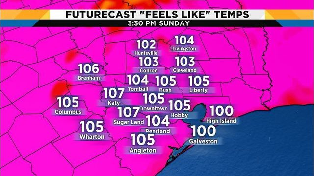 Heat advisory issued Sunday for Houston area