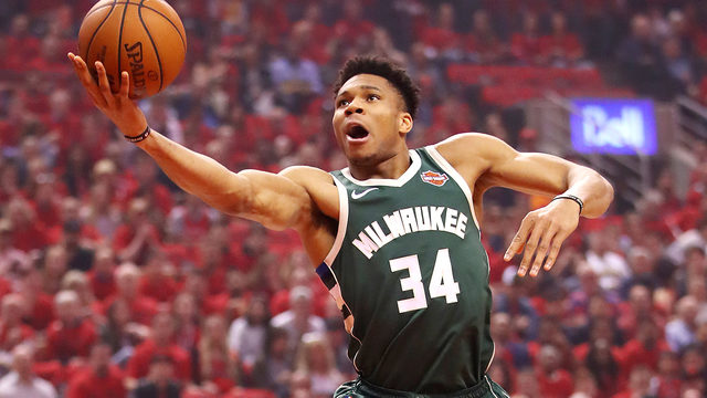 Giannis Antetokounmpo named NBA's 2018-19 MVP