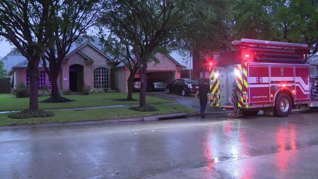 Lightning strike causes house fire; deputies transported for smoke inhalation