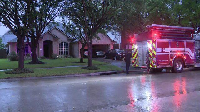 Lightning strike causes house fire; deputies transported for smoke inhalation