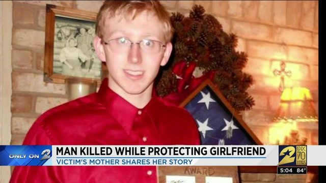 Man killed while protecting girlfriend