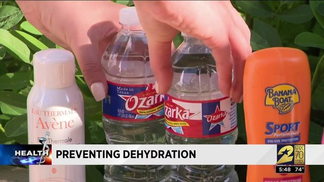 Tips for preventing dehydration