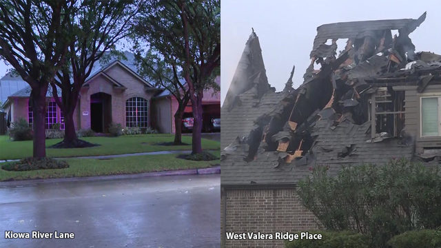 Lightning strikes cause two house fires in Houston area