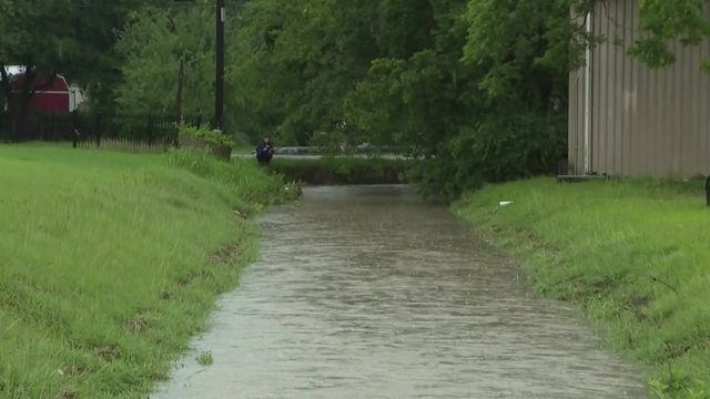 Second round of storms causing high water