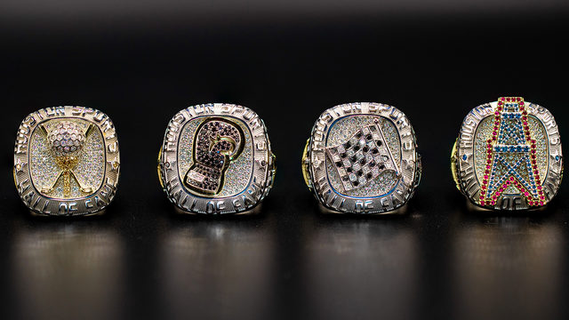 A look at the 4 2019 Houston Sports Hall of Fame rings