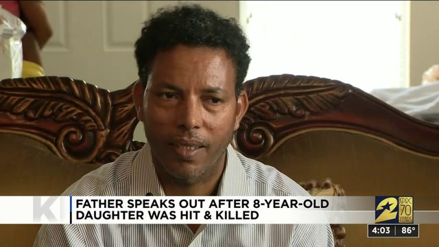 Father speaks out after 8-year-old daughter was hit and killed