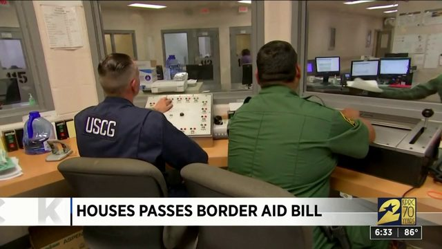 House passes border aid bill